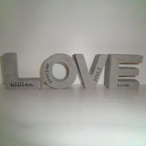love bokstaver webb 300x300 - LOVE, Bokstäver, Betong