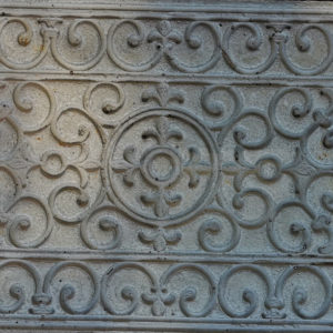 Betongmatta webb 300x300 - Dörrmatta, Viktorianskt mönster, 77,5 x 43,5 cm, Betong